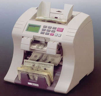 BILLCON D-551 Currency Discrimination Counter/Sorter With Counterfeit Detection